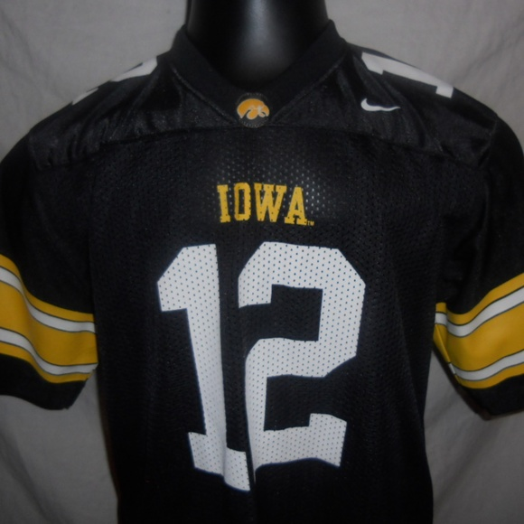 detailed look 0b35c a16dc Nike Iowa Hawkeye's #12 Football Jersey Size Large